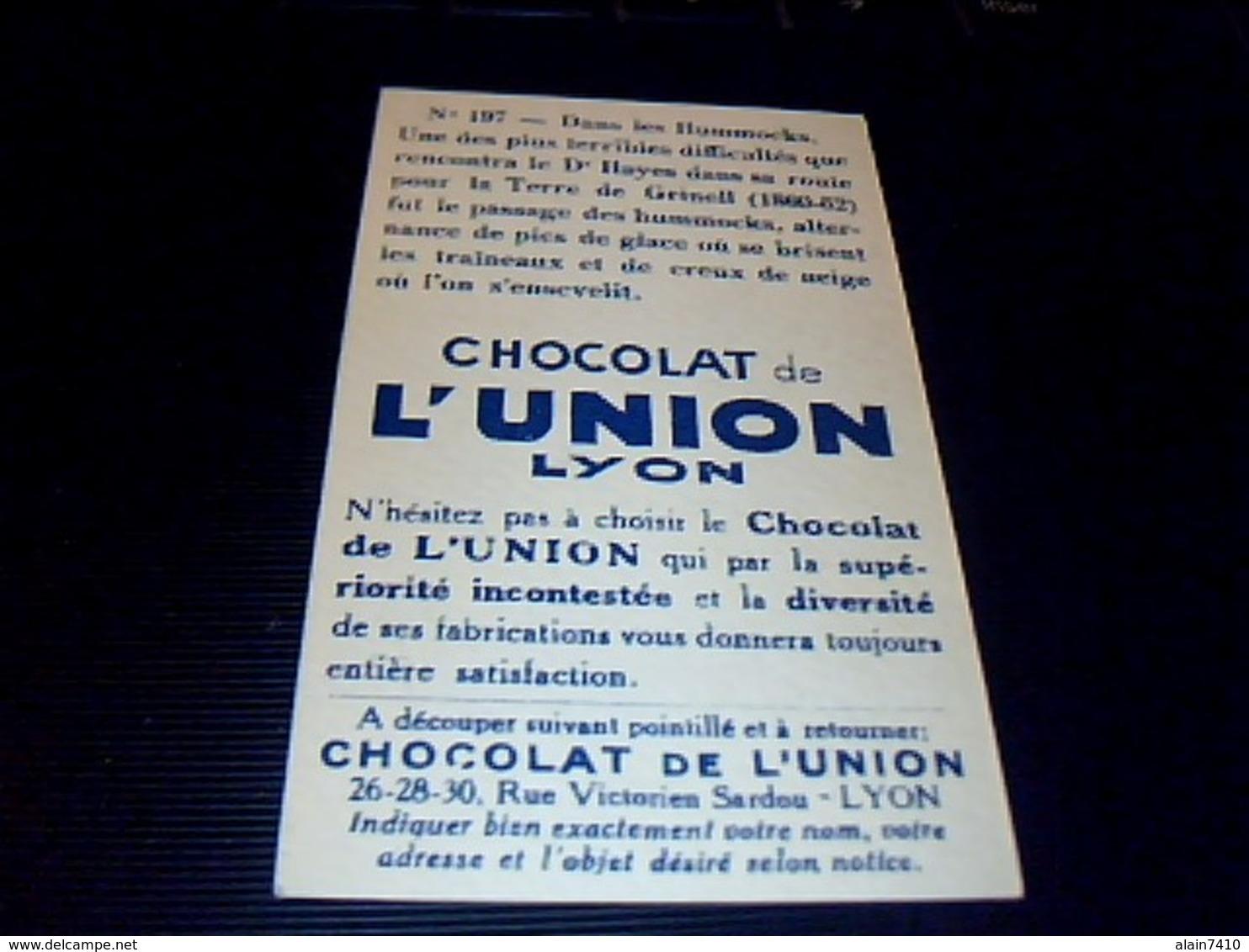 Chocolal De L'union  Vignette  Bon Point No 197 Pour L Album La Vie Aux Poles - Chocolat