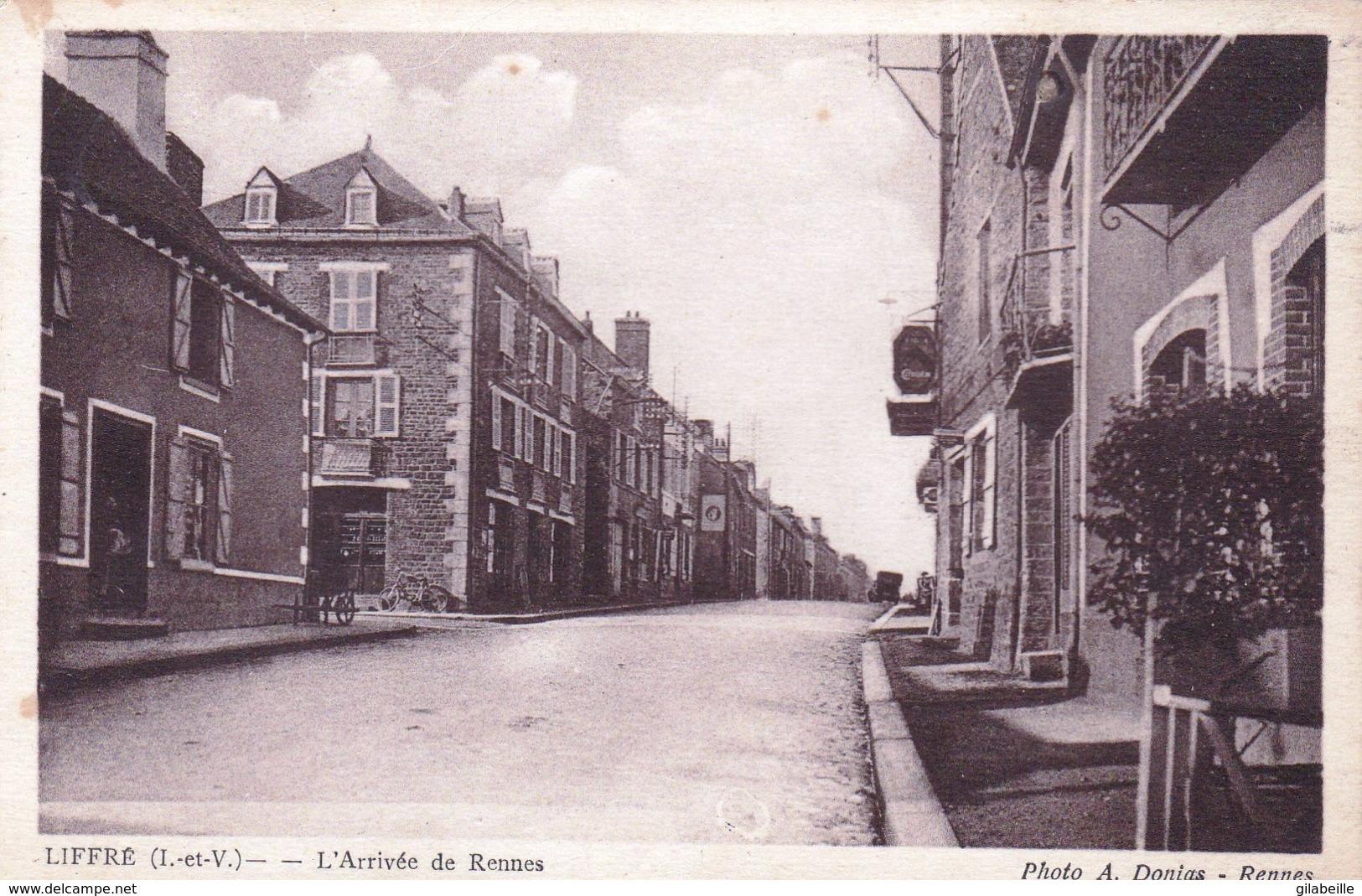 35 - Ille Et Vilaine -  LIFFRE - L Arrivée De Rennes - Other Municipalities