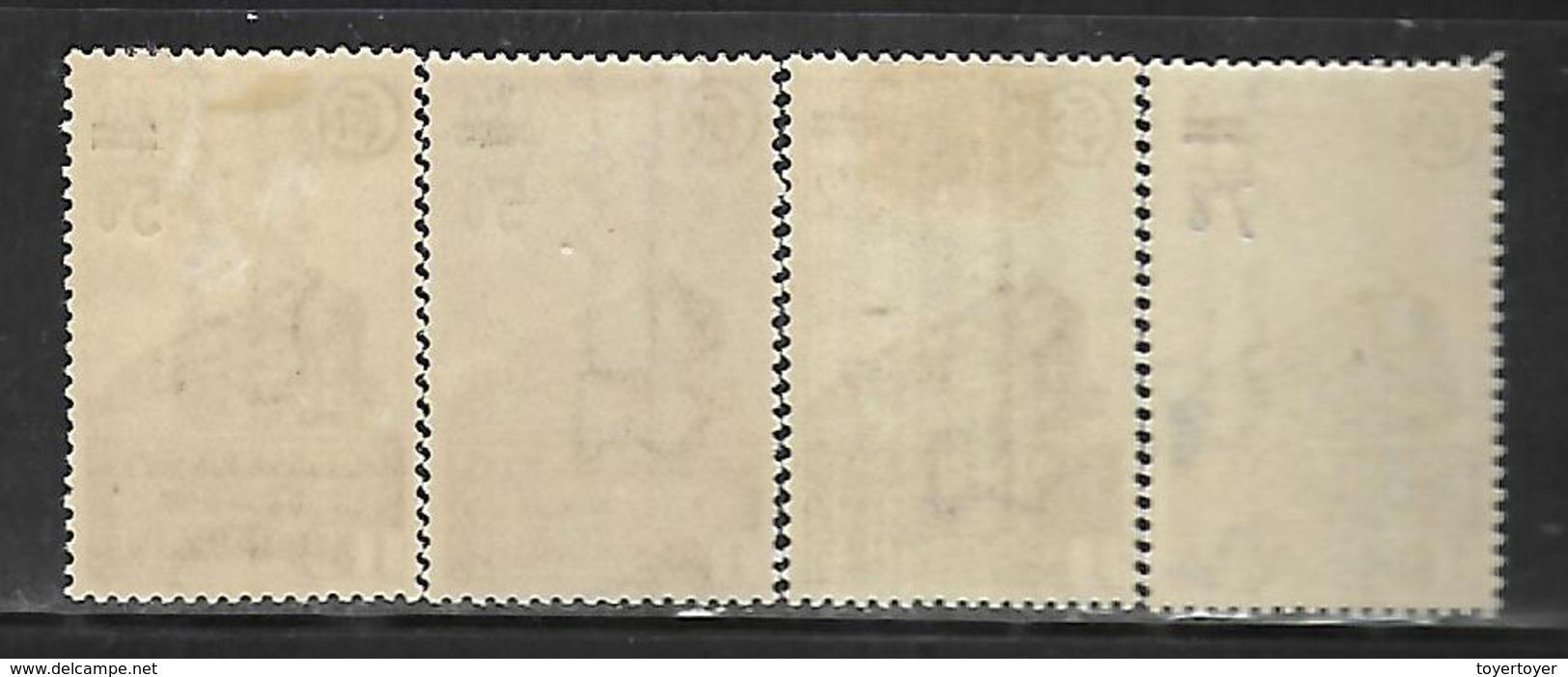 Fg167  France Colis Postaux N°226A(2 Nuances)-227A-228A Nx - Neufs
