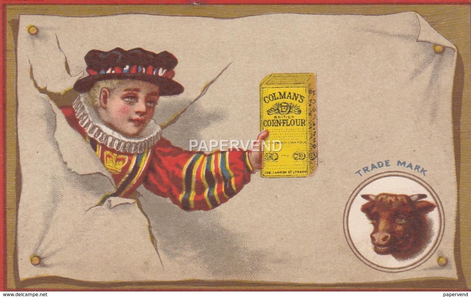 Advert  COLMAN'S Mustard  E102 - Advertising