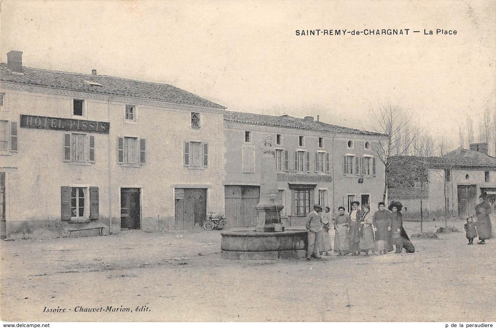 CPA 63 SAINT REMY DE CHARGNAT LA PLACE - France