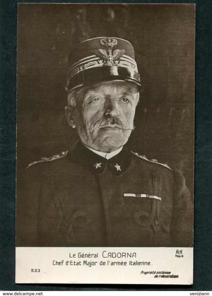 CPA - Le Général CADORNA, Chef D'Etat Major De L'Armée Italienne - Guerre 1914-18