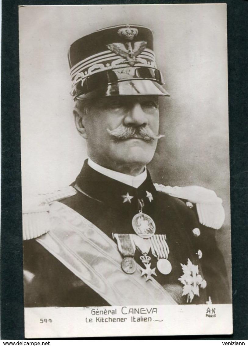 CPA - Général CANEVA, Le Kitchener Italien - Guerre 1914-18