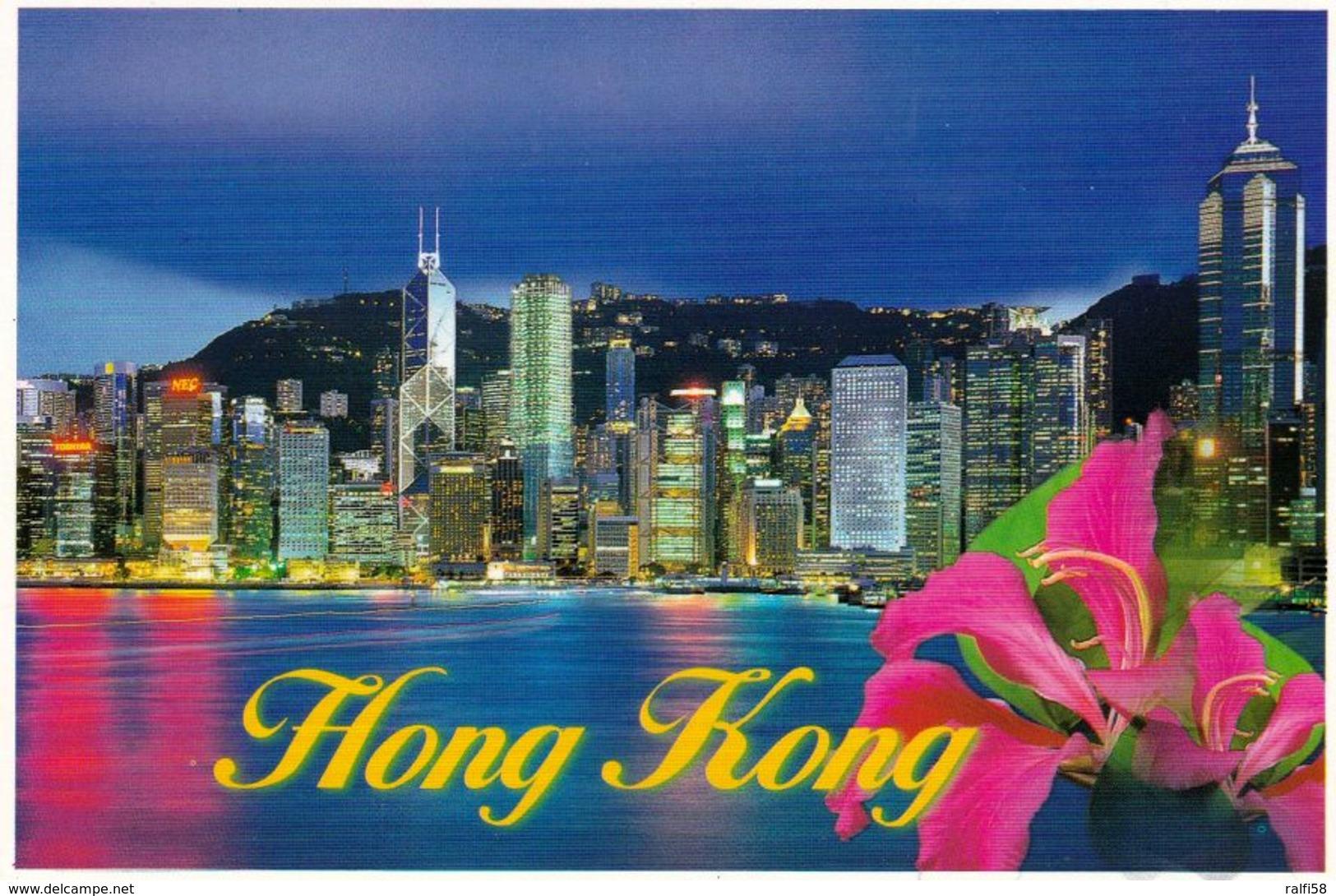 1 AK Hongkong * Central District Of Hong Kong Night * - China (Hong Kong)