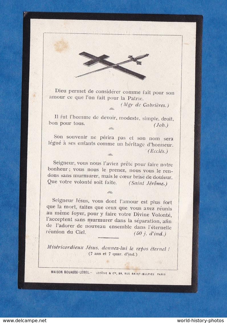 Dokumente   Faire part de décés de 20   Comte Raoul Rémy DE ...