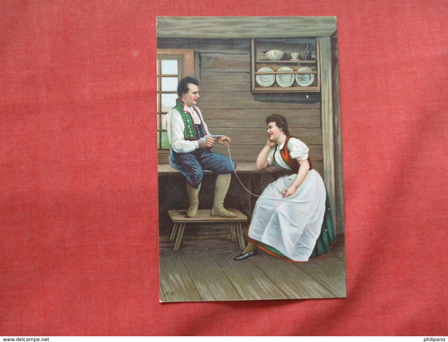 Costumes  Male & Female       Ref 3199 - Europe