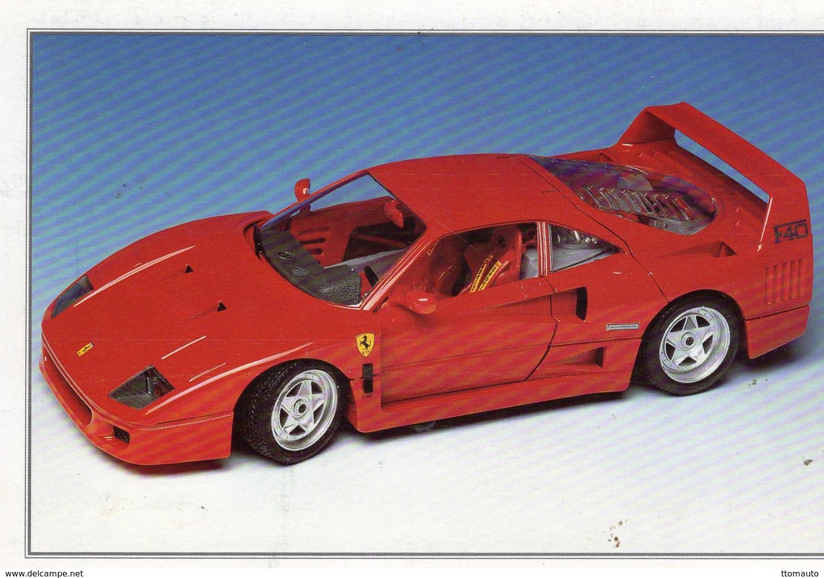 Ferrari F40       -  CPM - Turismo