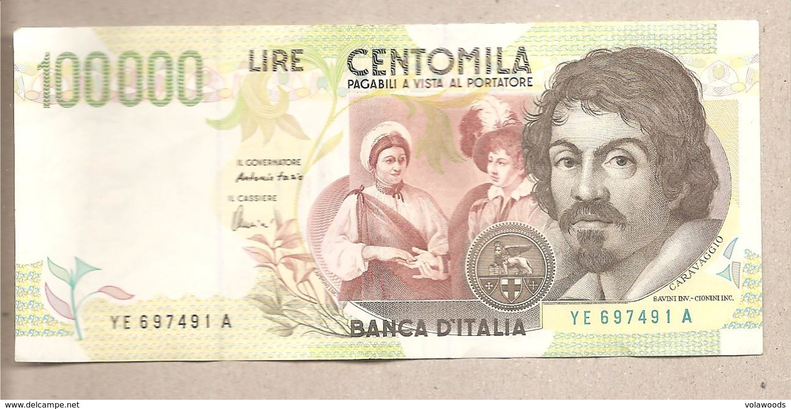 Italia - Banconota Circolata Da 100.000 Lire P-117b  - 1998 - [ 2] 1946-… : Repubblica