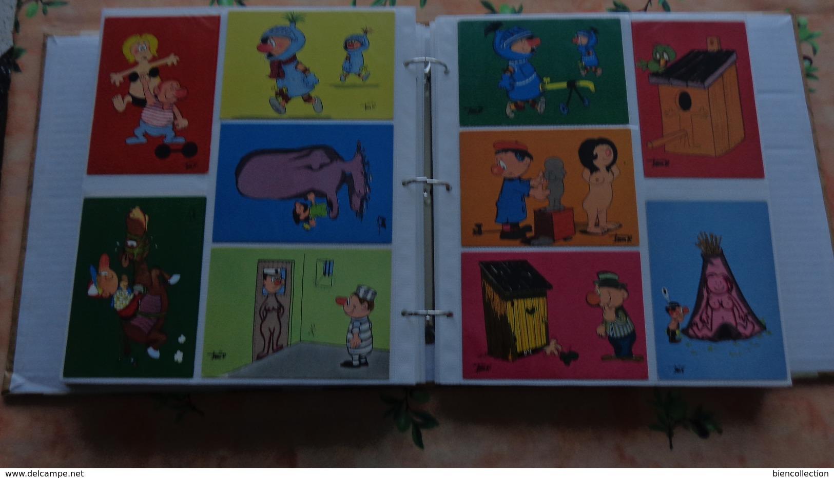 """400 Cartes Humoristiques """"nus,militaire, Scaphandrier""""; Pichard, Alexandre,Jia Patt, Meunier, Ko, Lassalvy, Gondot, - 100 - 499 Cartes"""