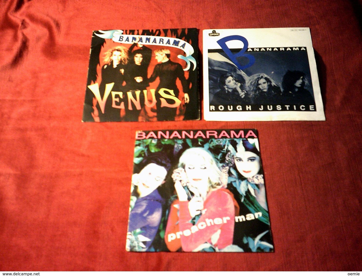 BANANARAMA   °  COLLECTION DE   17 /  45  TOURS  DIFFERENTS - Vollständige Sammlungen