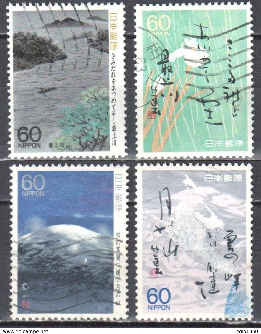 Japan 1988 - Mi.1786-89 - Used - Used Stamps