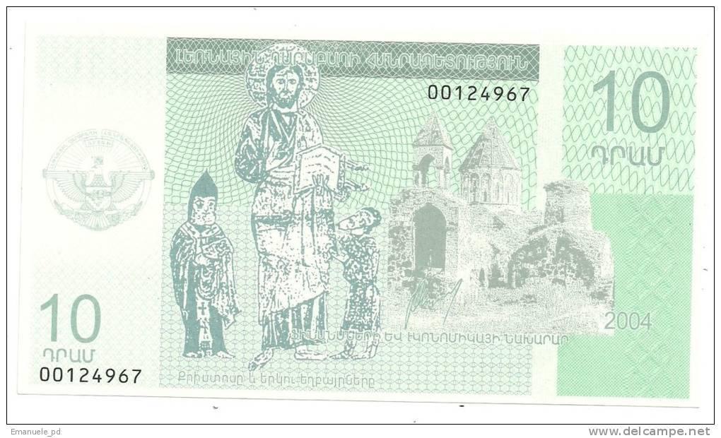 Nagorno Karabach 10 Dram 2004 UNC - Banconote