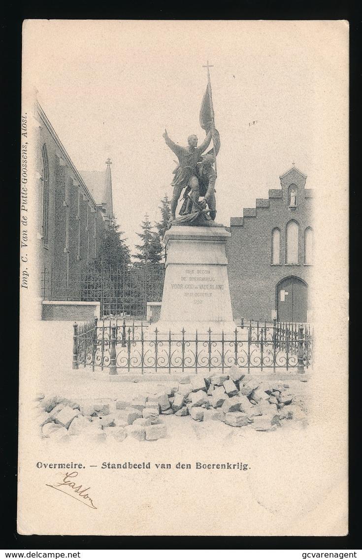 OVERMERE  - STANDBEELD VAN DEN BOERENKRIJG - Berlare