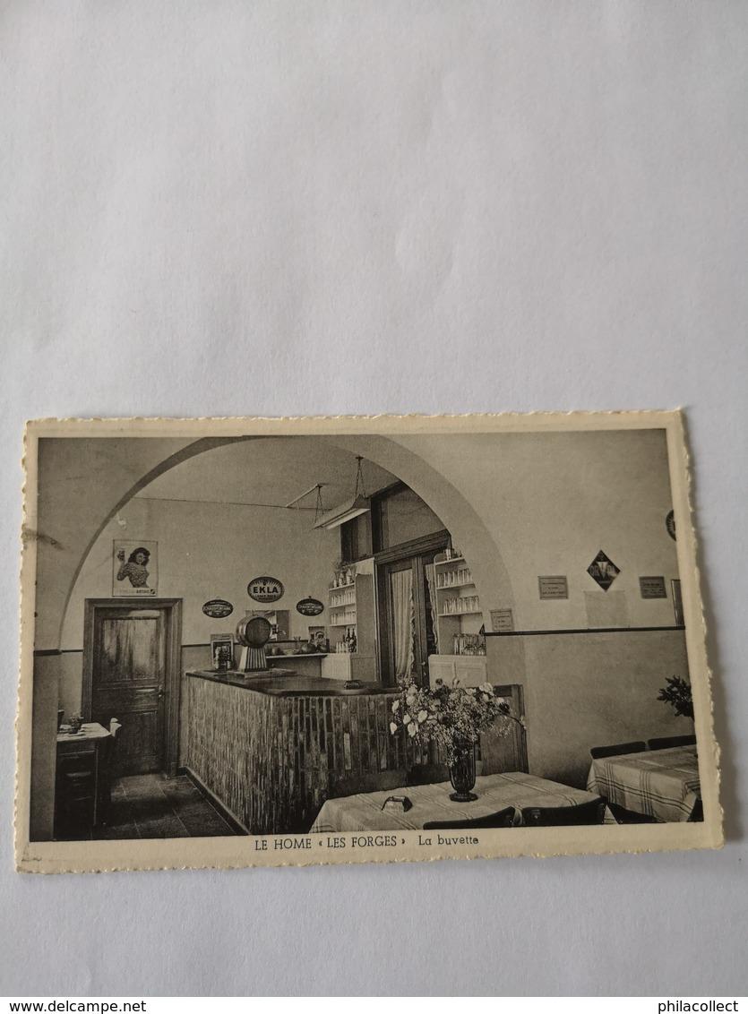 Le Home - Les Forges // Interieur LA Buvette 19?? - Saint-Hubert
