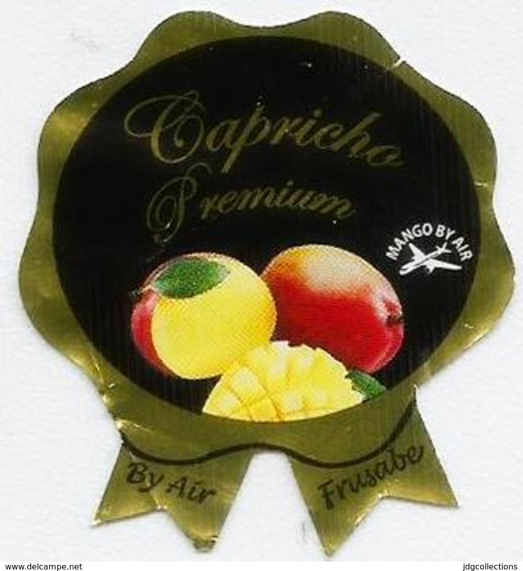 # MANGO CAPRICIO PREMIUM By Air, Fruit Sticker Label Etichette Etiquettes Etiquetas Adhesive Aufkleber Fruta Frucht - Fruits & Vegetables