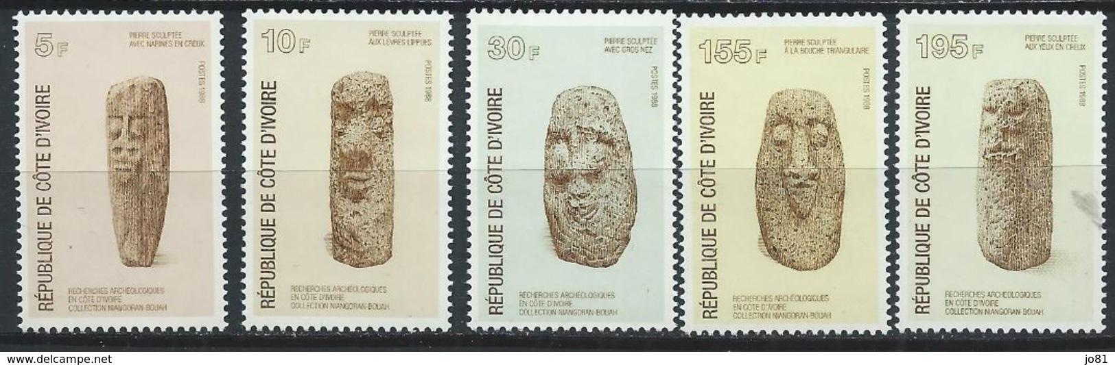 Côte D'Ivoire YT 803-807 XX / MNH - Côte D'Ivoire (1960-...)