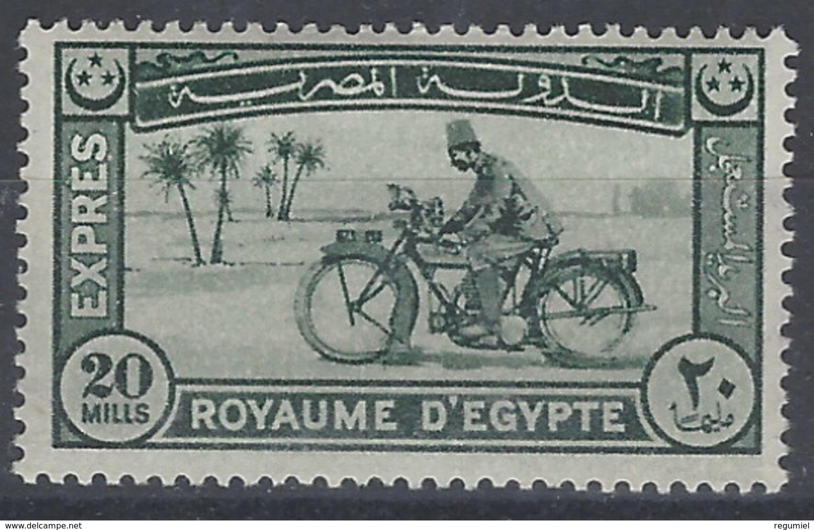 Egipto Expres 01 * Charnela. 1926 - Luchtpost
