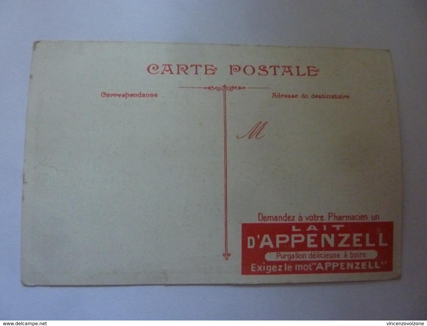 "Cartolina Pubblicitaria ""LAIT D'APPENZEL"" - Commercio"