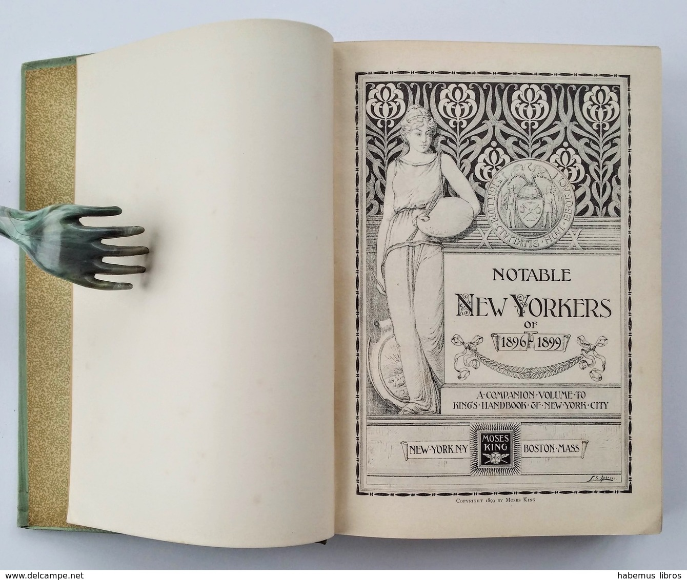 Notable New Yorkers Of 1896-1899. - New-York ; Boston : Moses King, S.d. [copyr. 1899] - Livres, BD, Revues