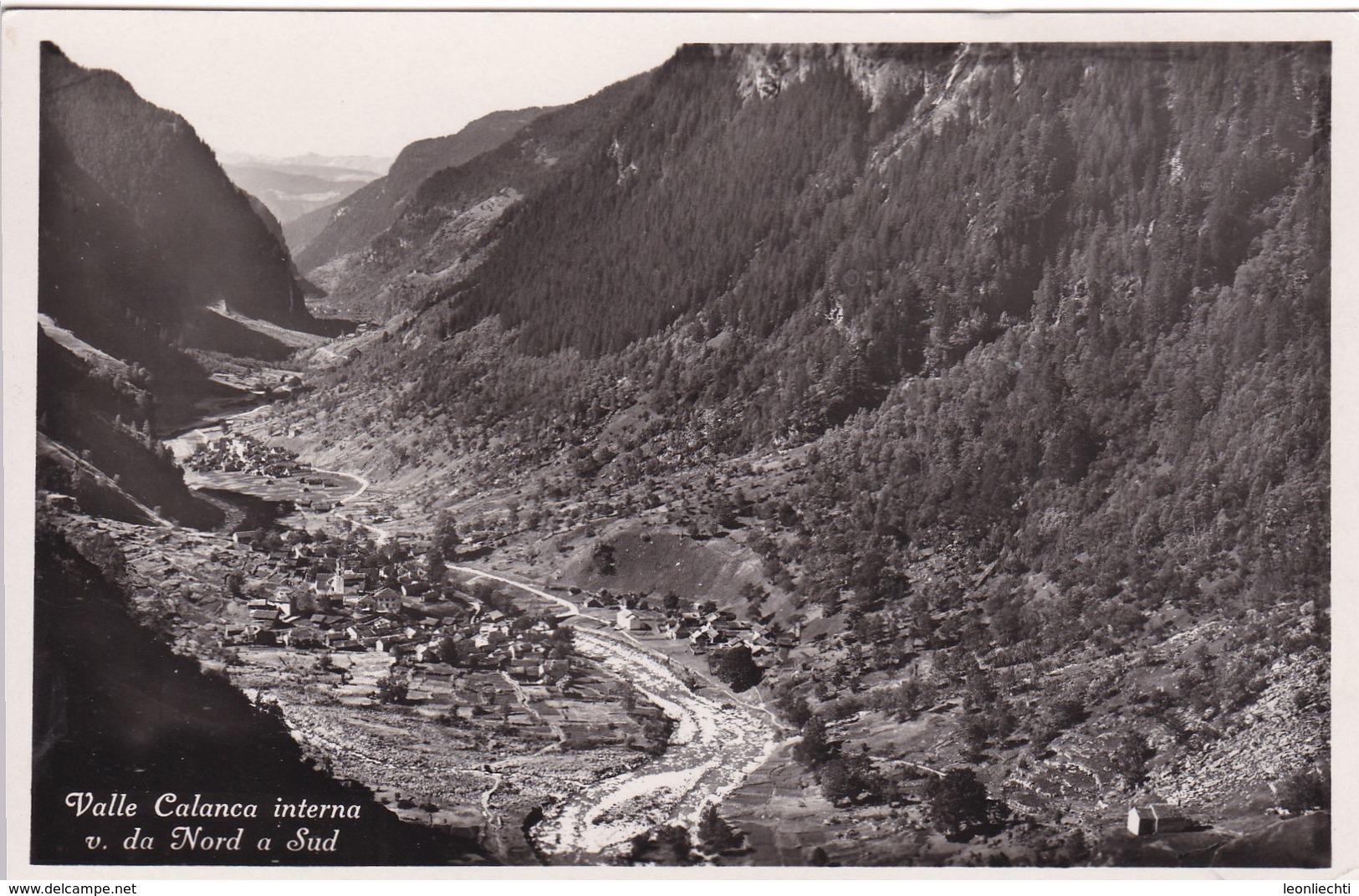 Valle Calanca Interna V. D. Nord A Sud, Mi: 363b - TI Tessin