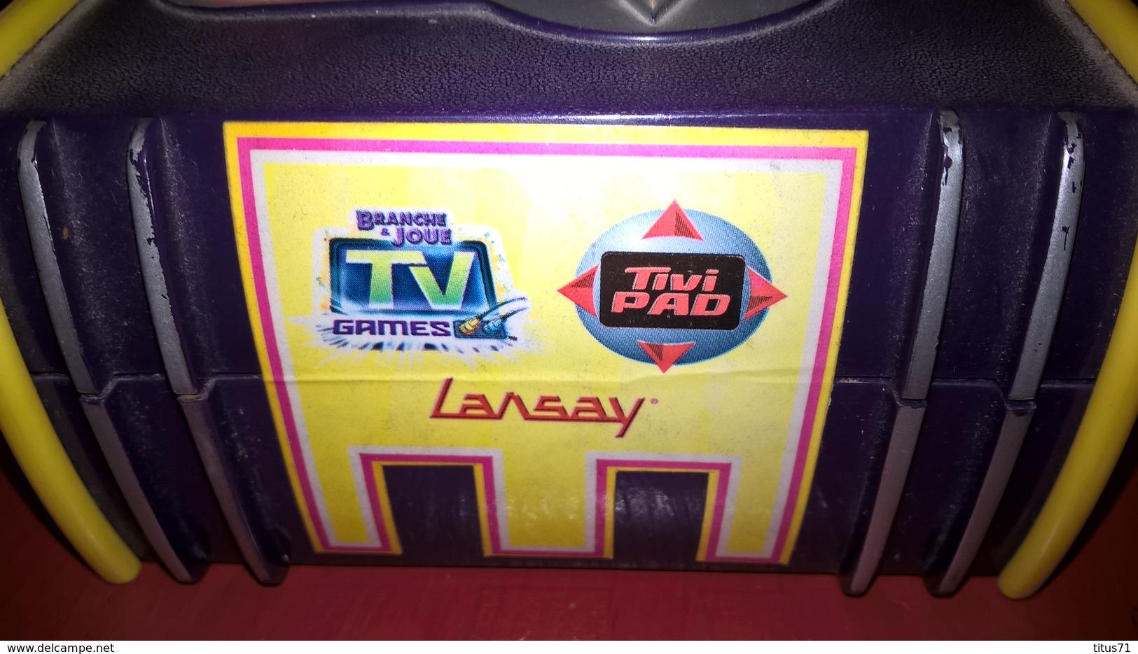 TiviPad Lansay - Jeu PacMan - Très Bon état De Fonctionnement - Sonstige