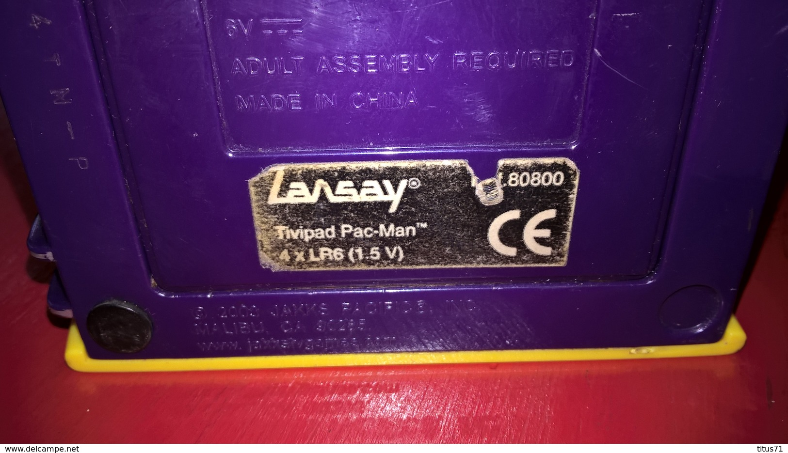 TiviPad Lansay - Jeu PacMan - Très Bon état De Fonctionnement - Other