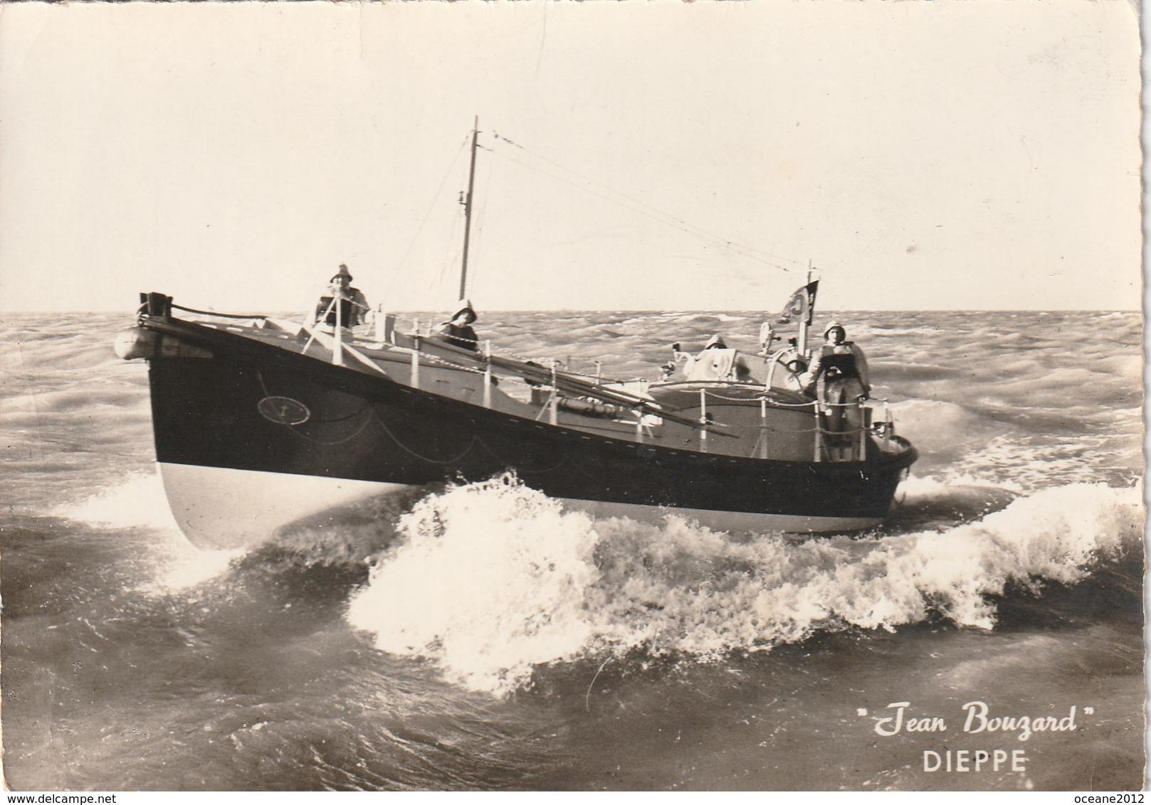 76 Dieppe. Vedette De Sauvetage Jean Bouzard - Dieppe