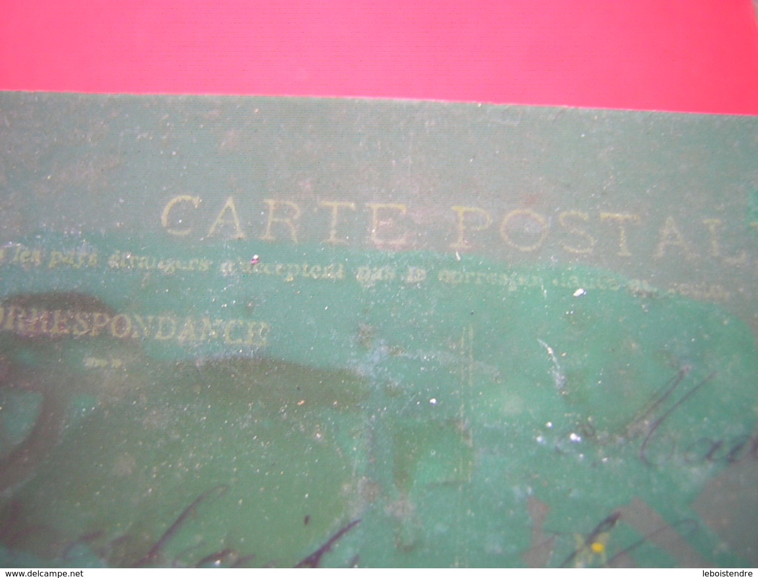 CPA  RHODOÏD FANTAISIE  DECOUPIS     VOYAGEE  TIMBRE - Cartes Postales
