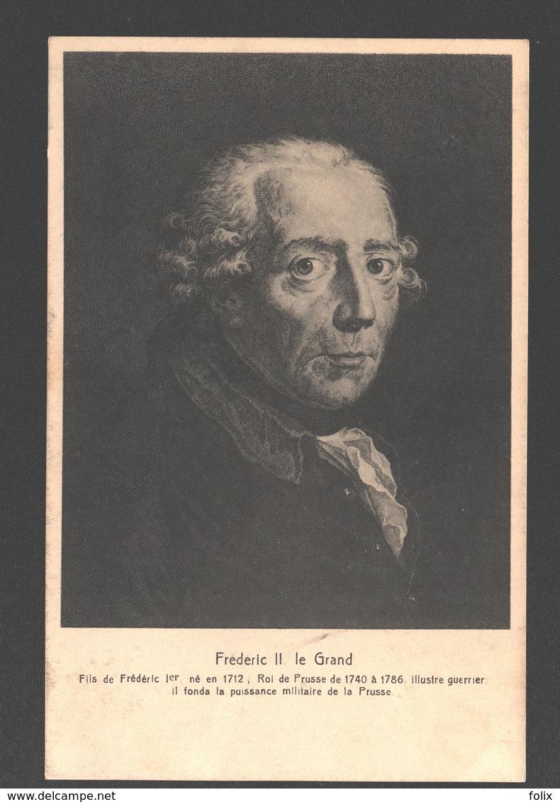Frédéric II, Le Grand - Hommes Politiques & Militaires