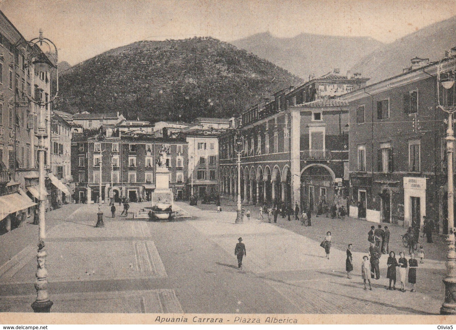 APUANIA  CARRARA - PIAZZA ALBERICA - Carrara