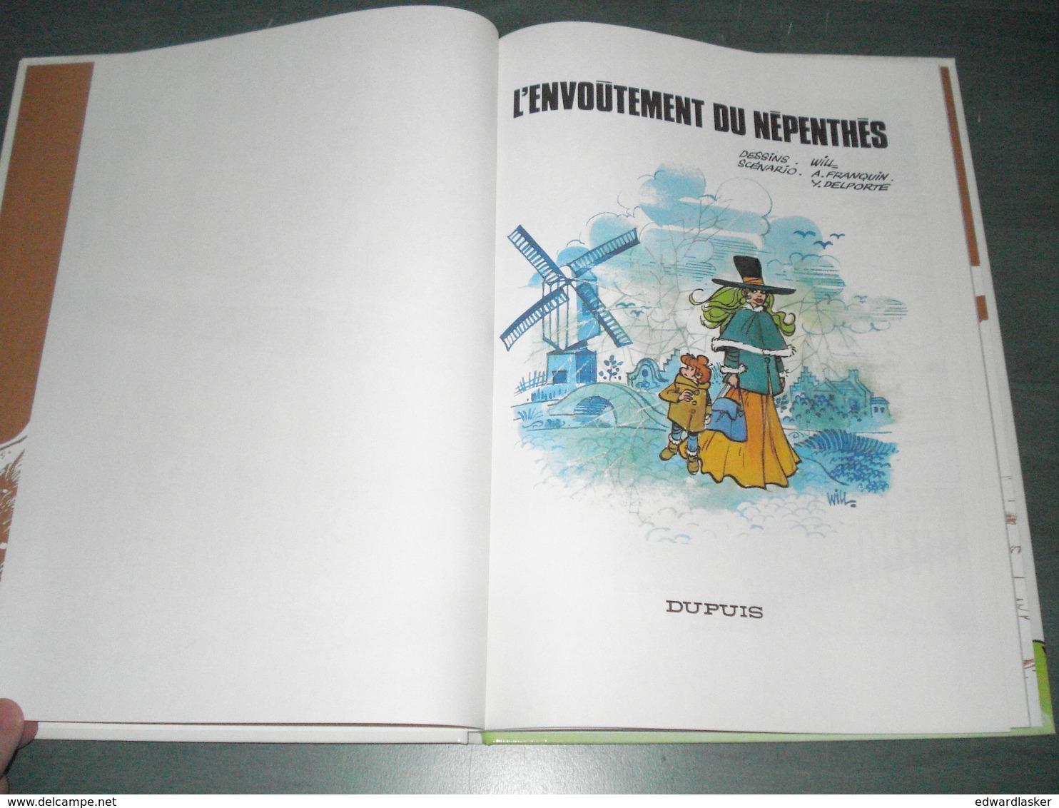 ISABELLE 7 : L'envoûtement Du Népenthès //Will Franquin Delporte - Rééd. Dupuis 1992 - Très Bon état + - Isabelle
