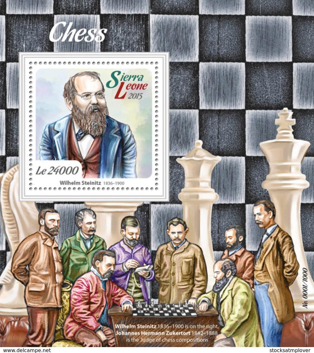 Sierra Leone 2015 Chess - Sierra Leone (1961-...)