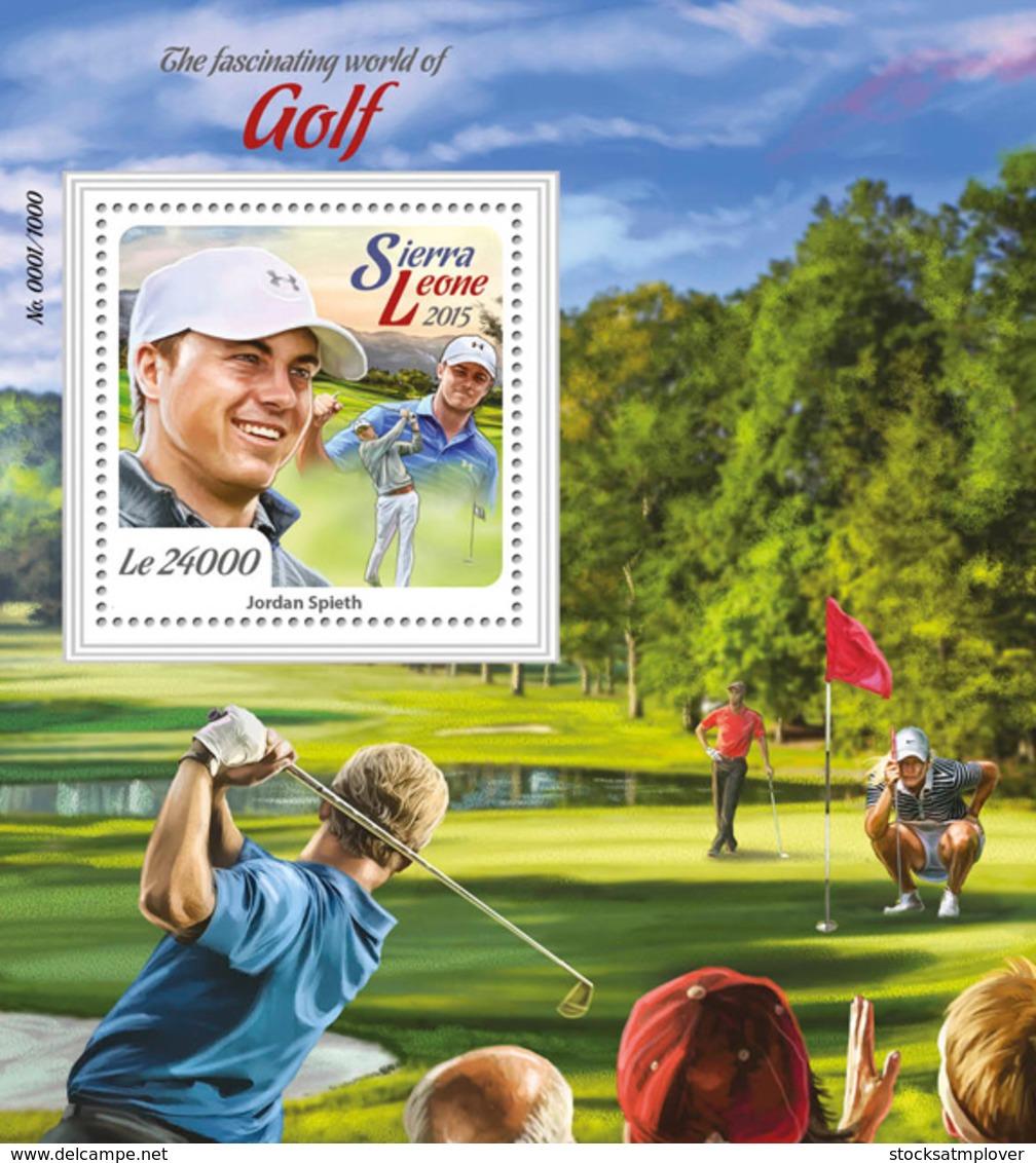 Sierra Leone 2015 Golf - Sierra Leone (1961-...)
