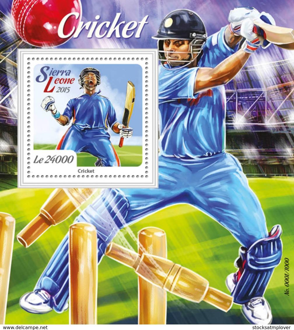 Sierra Leone 2015 Cricket - Sierra Leone (1961-...)