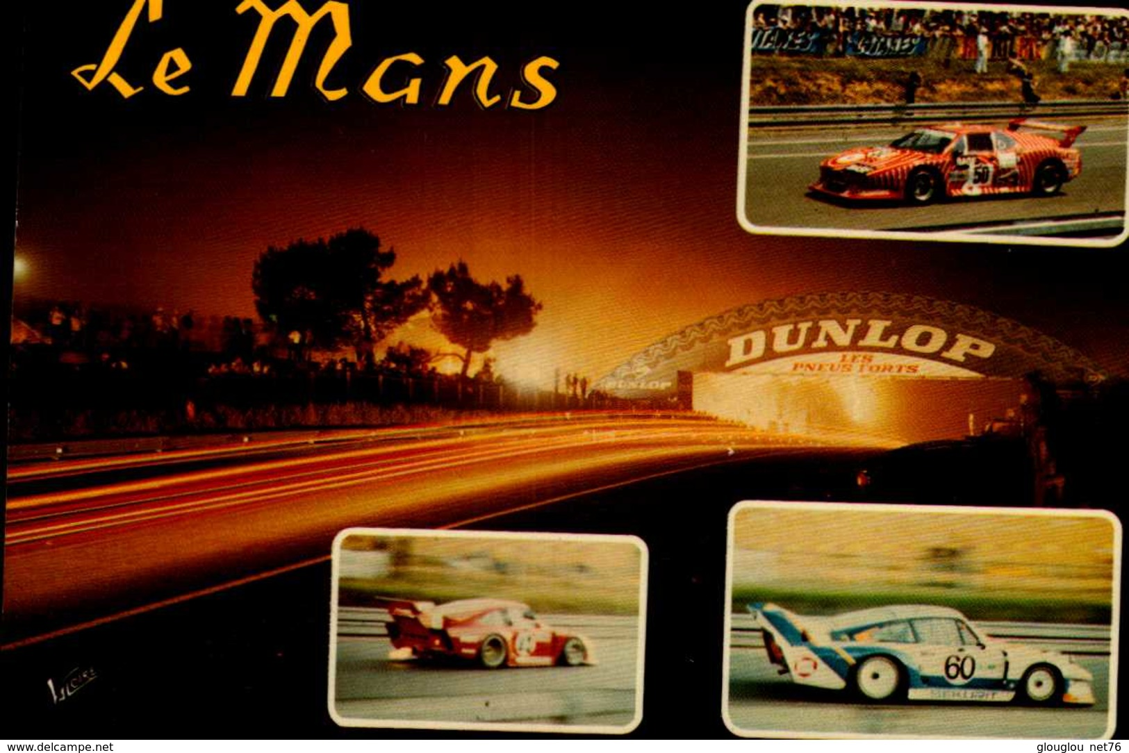 LE MANS....3 VUES......CPM - Le Mans