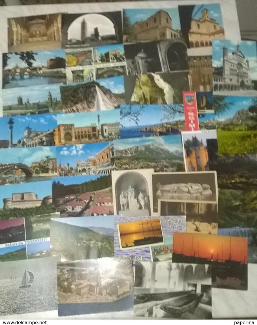 35 CART. ITALIA E NO   (1454) - Cartoline