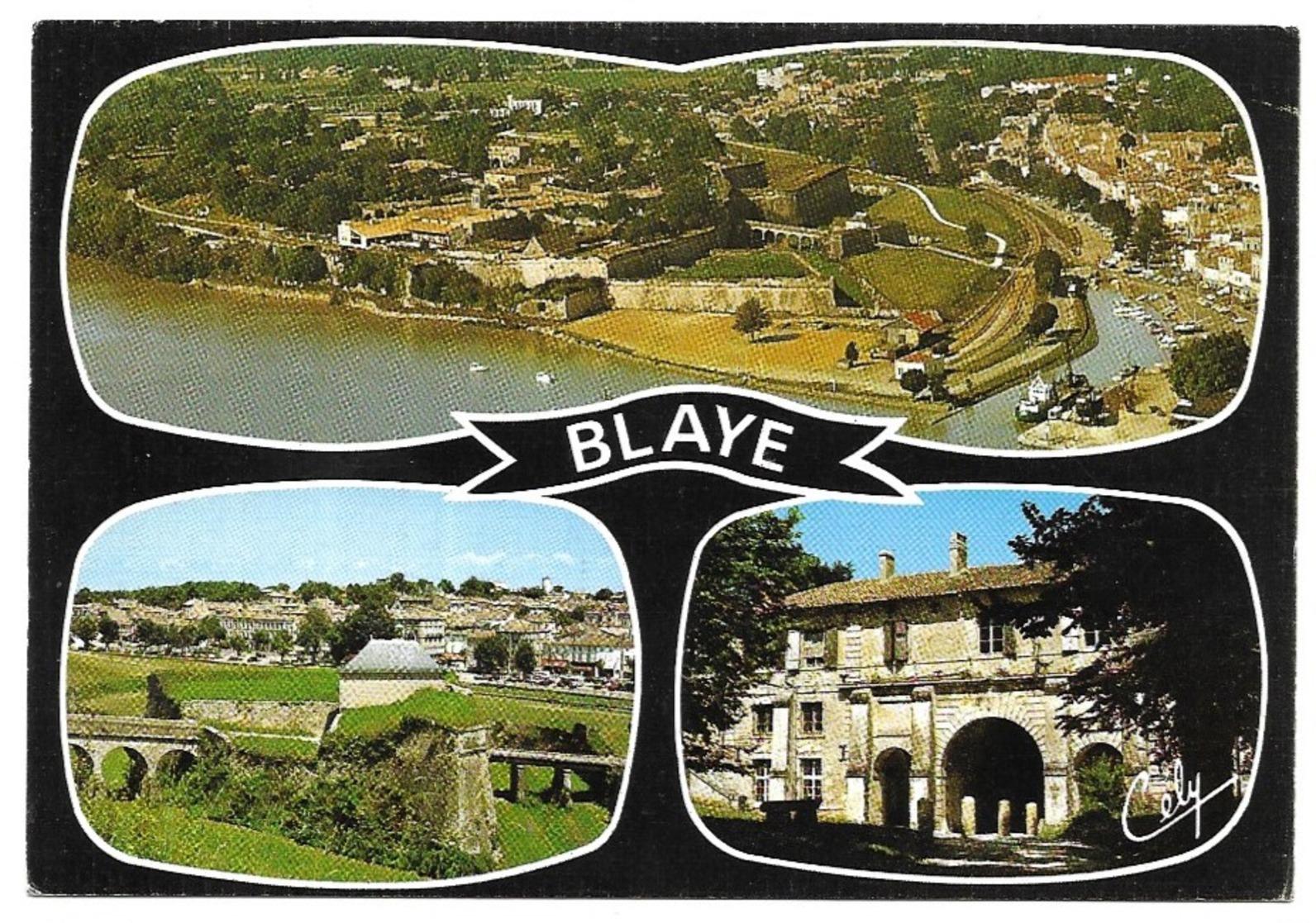 Blaye La Citadelle Le Port Le Porche De La Porte Royale - Blaye