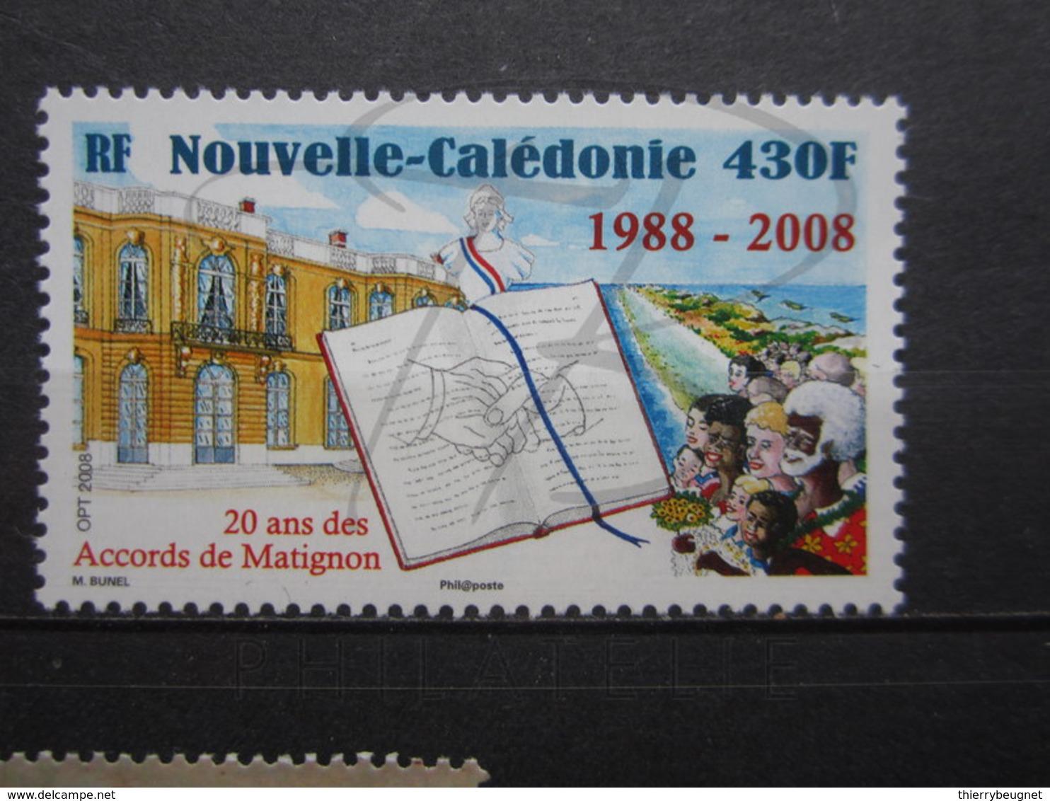 VEND BEAU TIMBRE DE NOUVELLE-CALEDONIE N° 1037 , XX !!! (b) - Nueva Caledonia