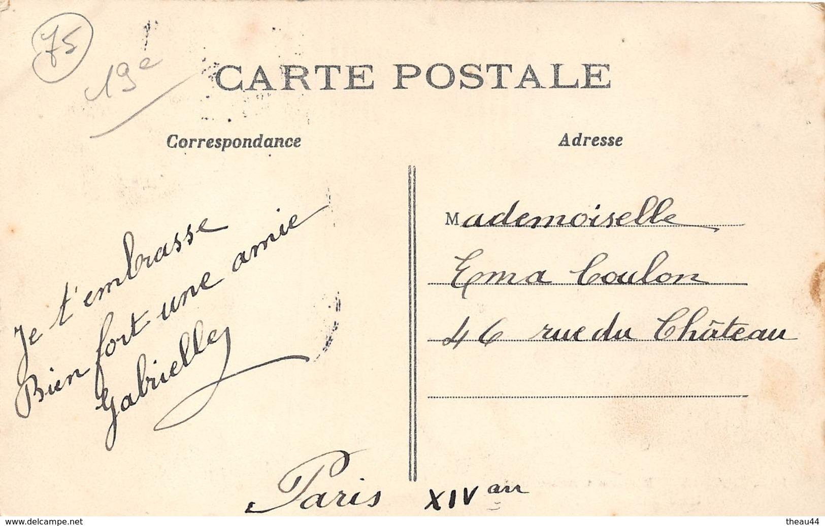 ¤¤   -  PARIS   -   Buttes Chaumont   -   Une Allée  -  ¤¤ - District 19