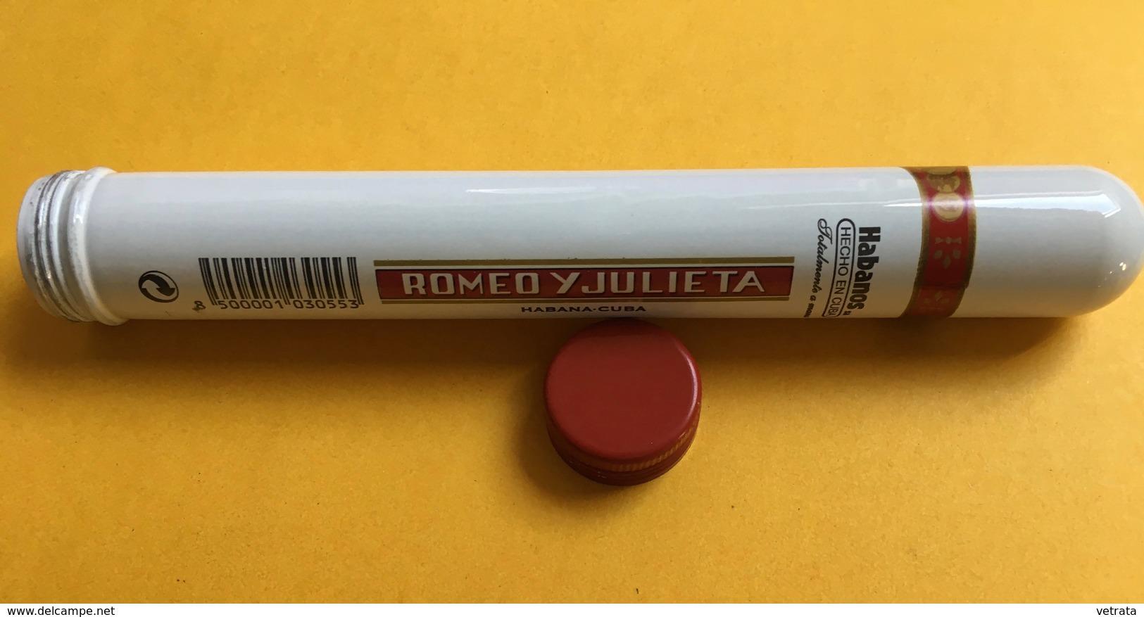 Étui à Cigare Métallique(vide) : Romeo Y Julieta N°1 (15 Cm) - Zigarrenetuis