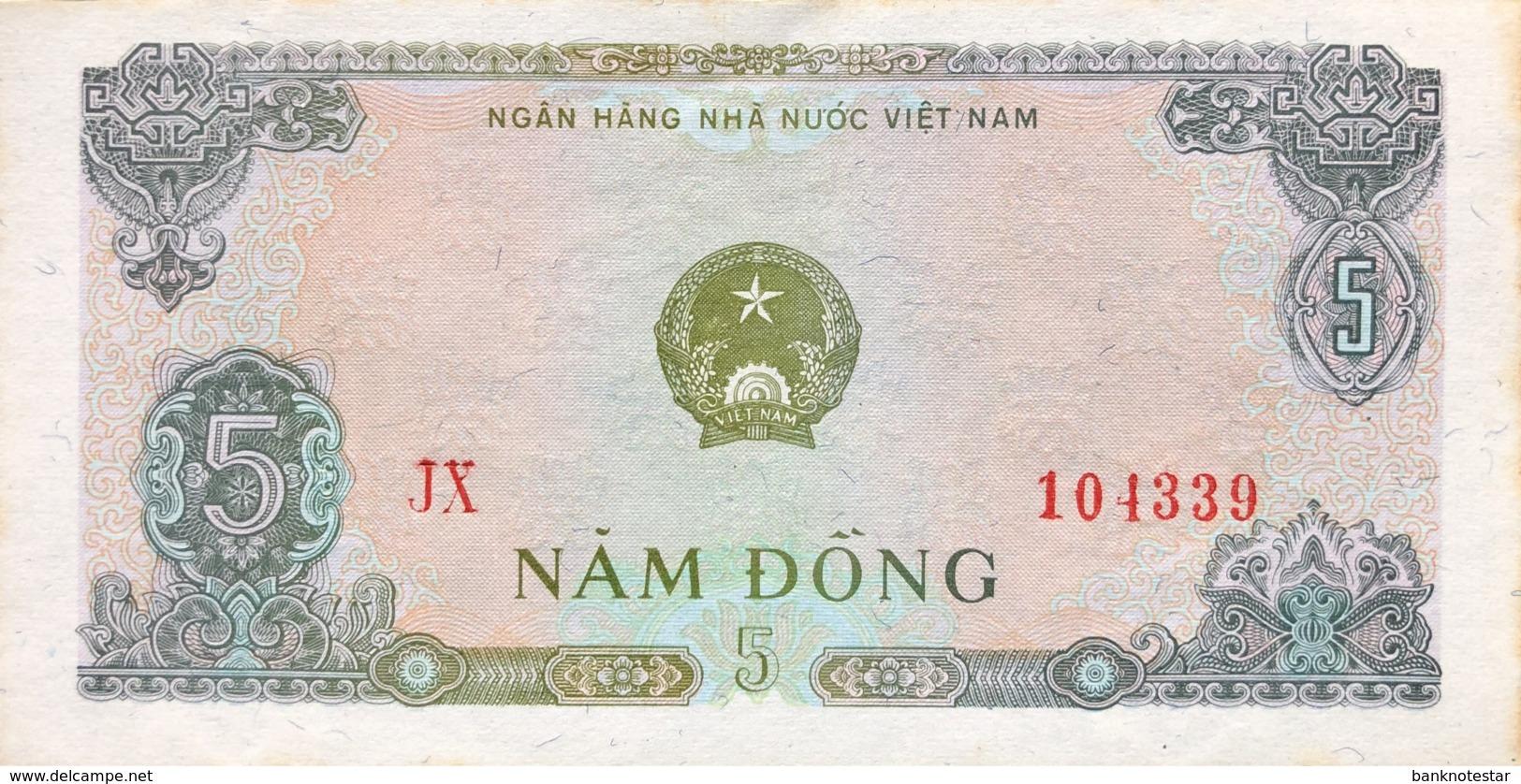 Vietnam 5 Dong, P-81b (1976) - EF/XF - Vietnam
