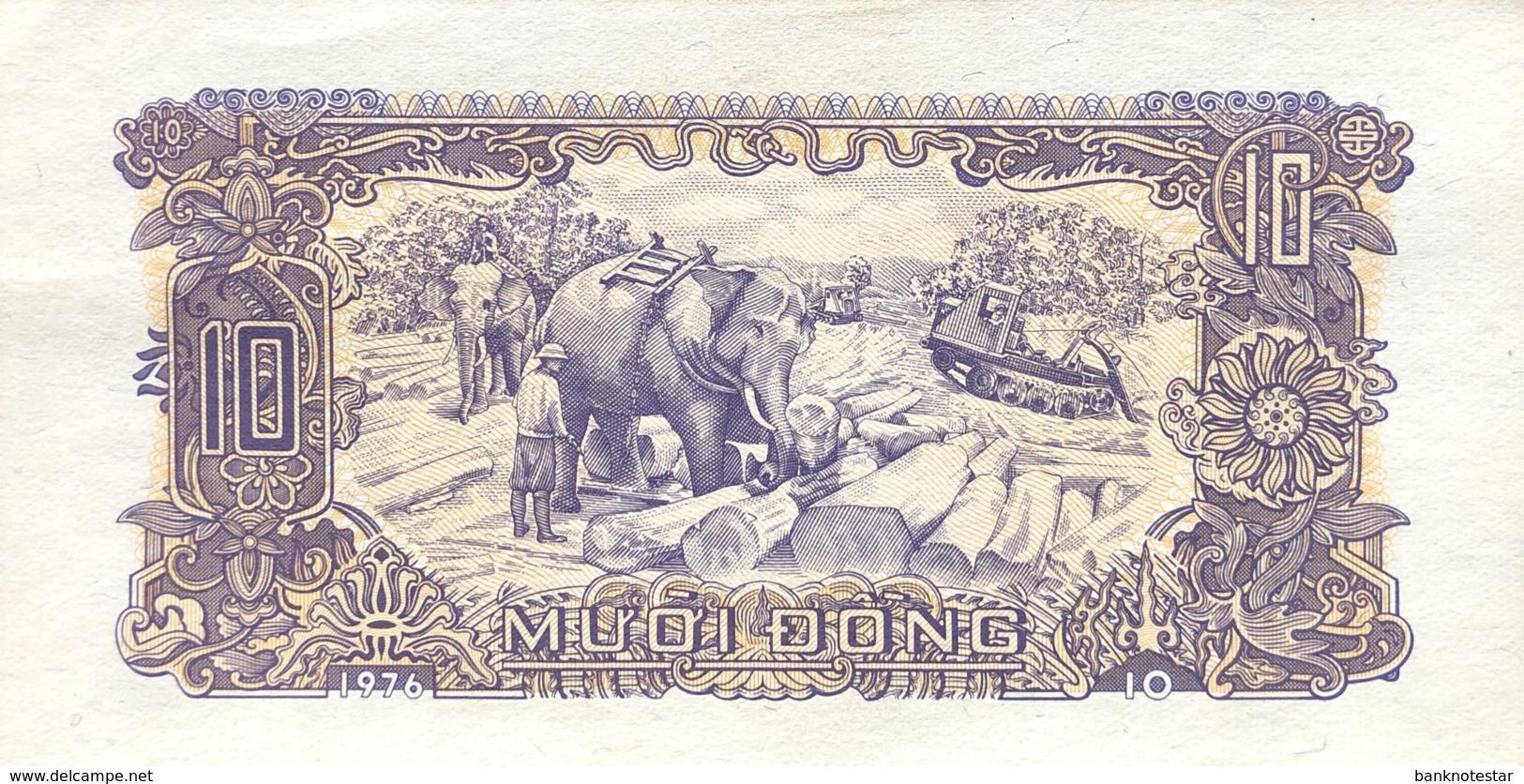 Vietnam 10 Dong, P-82 (1976) - UNC - Vietnam