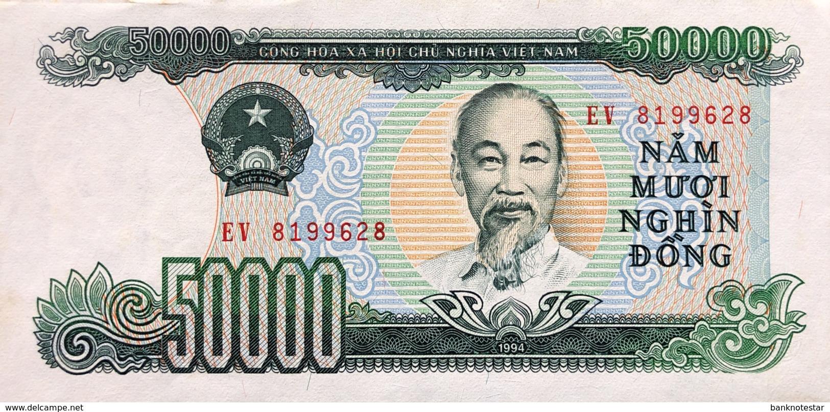 Vietnam 50.000 Dong, P-116 (1994) - AUNC - Vietnam