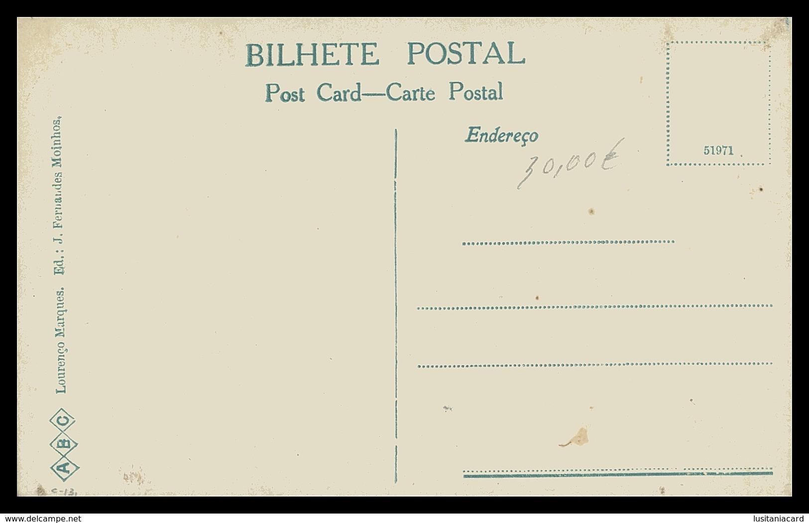 LOURENÇO MARQUES -FEIRAS E MERCADOS - (Ed. J. Fernandes Moinhos) Carte Postale - Mozambique