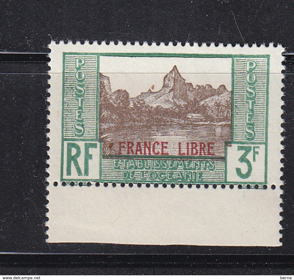 OCEANIE 140 FRANCE LIBRE LUXE NEUF SANS CHARNIERE - Oceania (1892-1958)