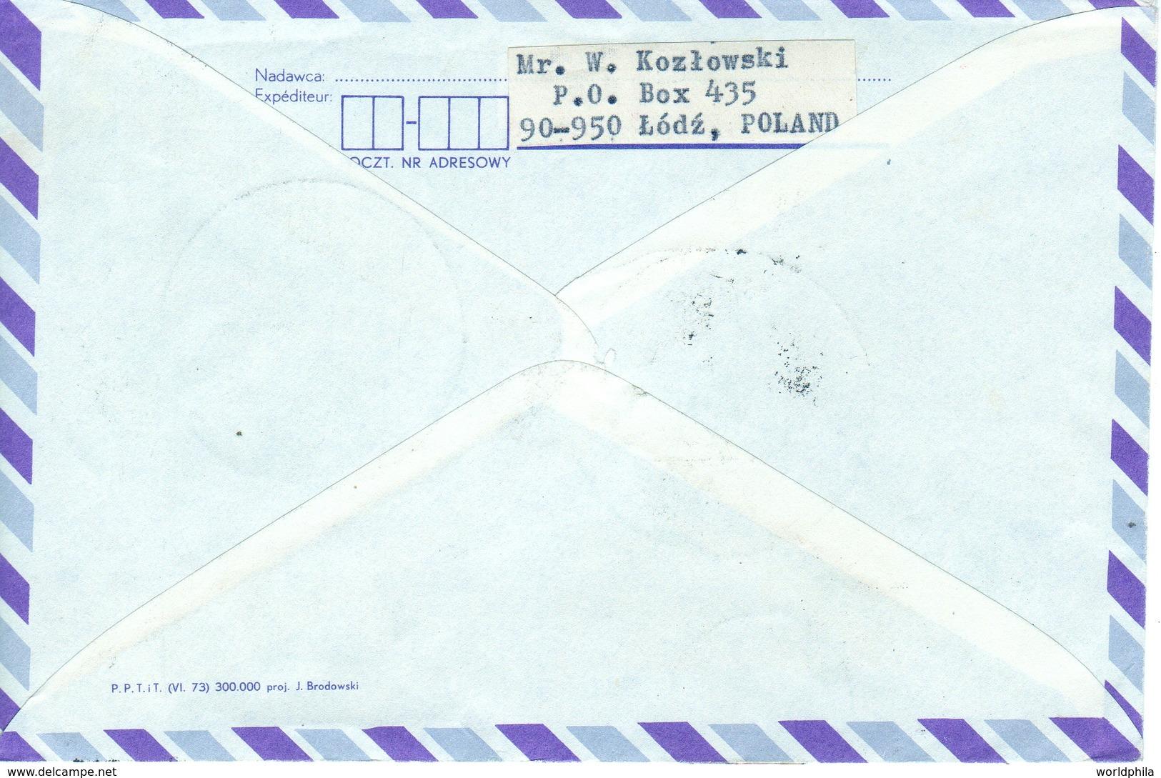 Poland-Israel 1973 Exhibition Registered Aerogramme Nicolaus Copernicus Matematichian & Astronomer VII - Astronomy