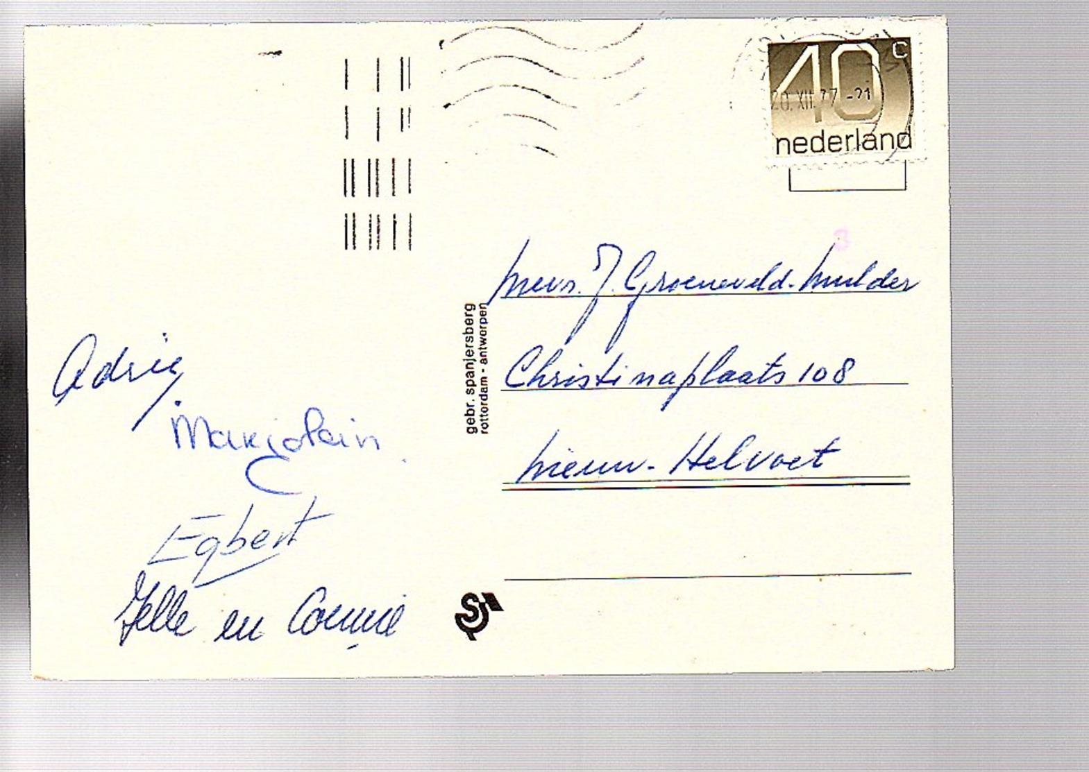 Sorteercode Rotterdam > Nieuw-Helvoet (DE-12) - Postal History