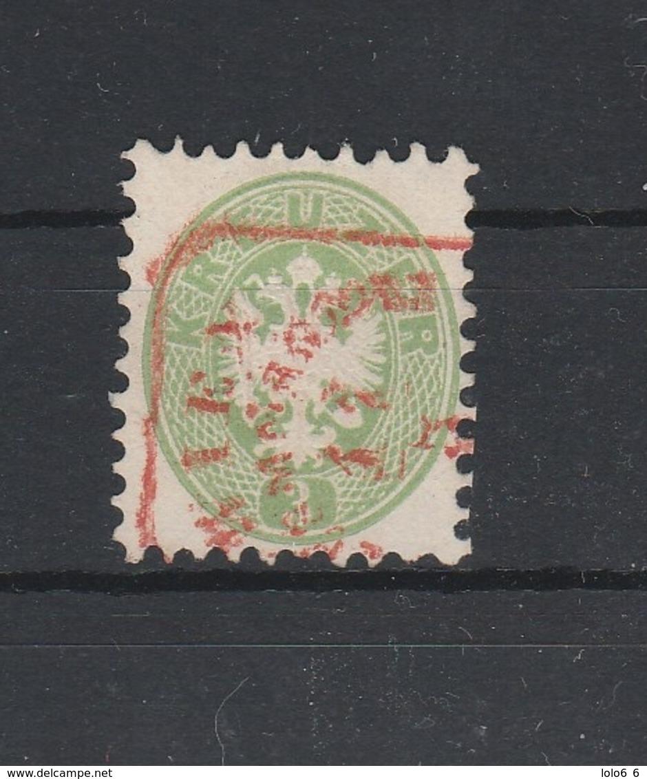 Mi. Nr. 31 Gelblichrün Schöner Roter Stempel - Gebraucht