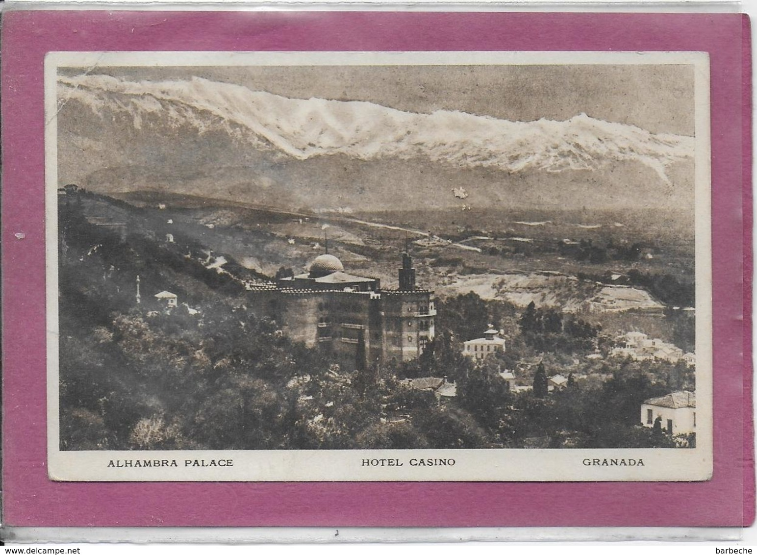 GRANADA .- Alhambra Palace - Granada