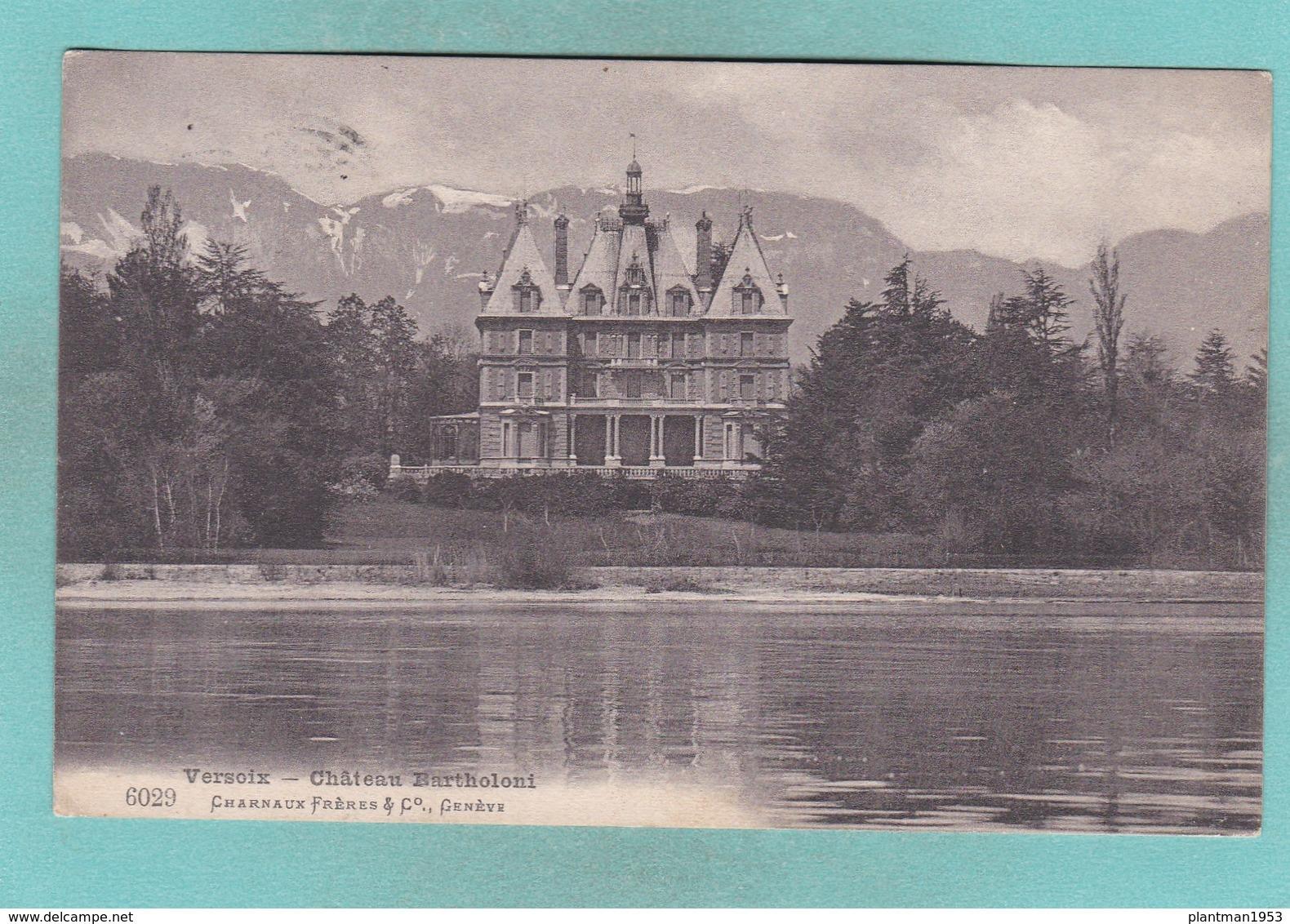Old Post Card Of Chateau Bartholoni,Versoix, Geneva, Switzerland ,Y57. - GE Geneva